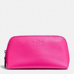 Coach Cosmetic Case Bright Fuchsia
